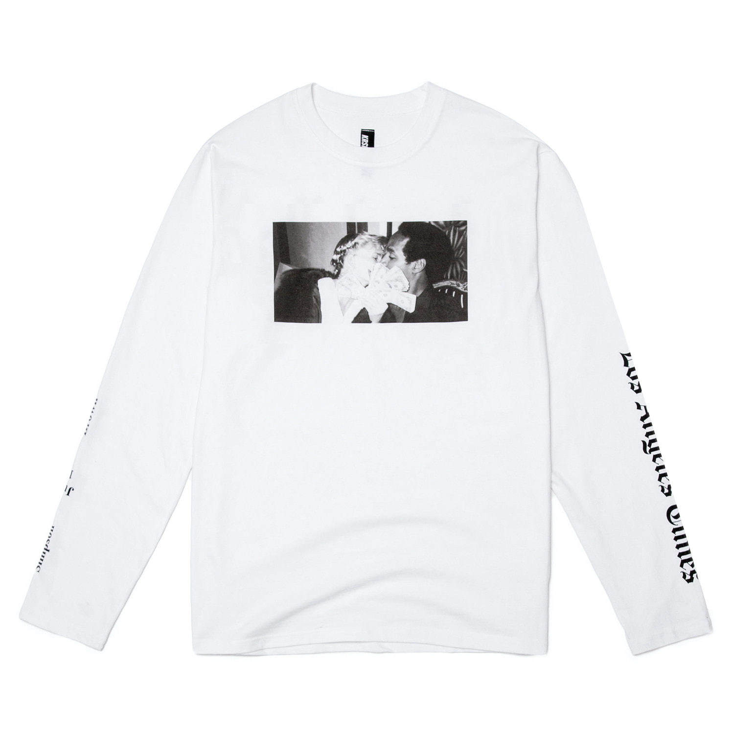 LOVE KILLS LA L/S T-SHIRT (WHITE)